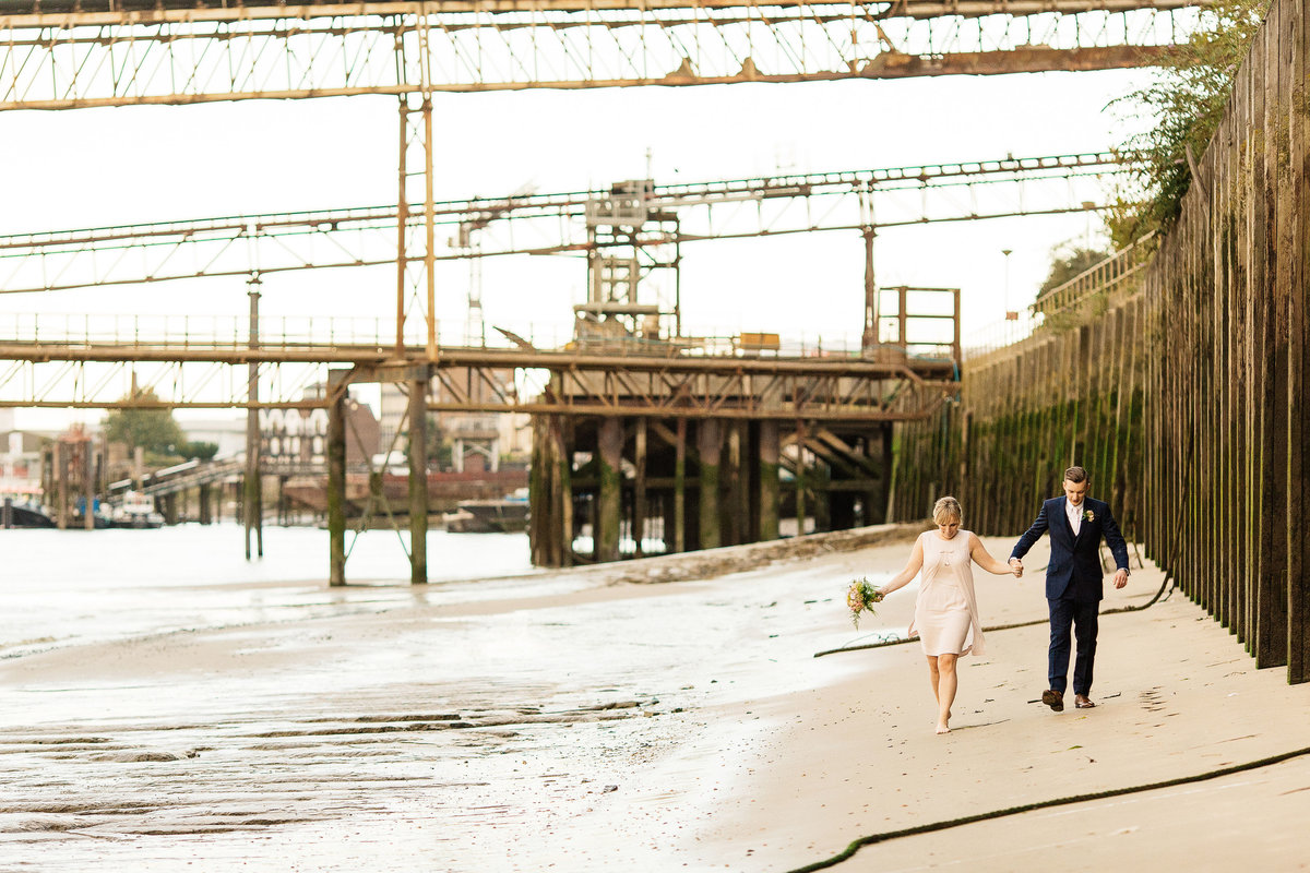 London Wedding at the yacht club