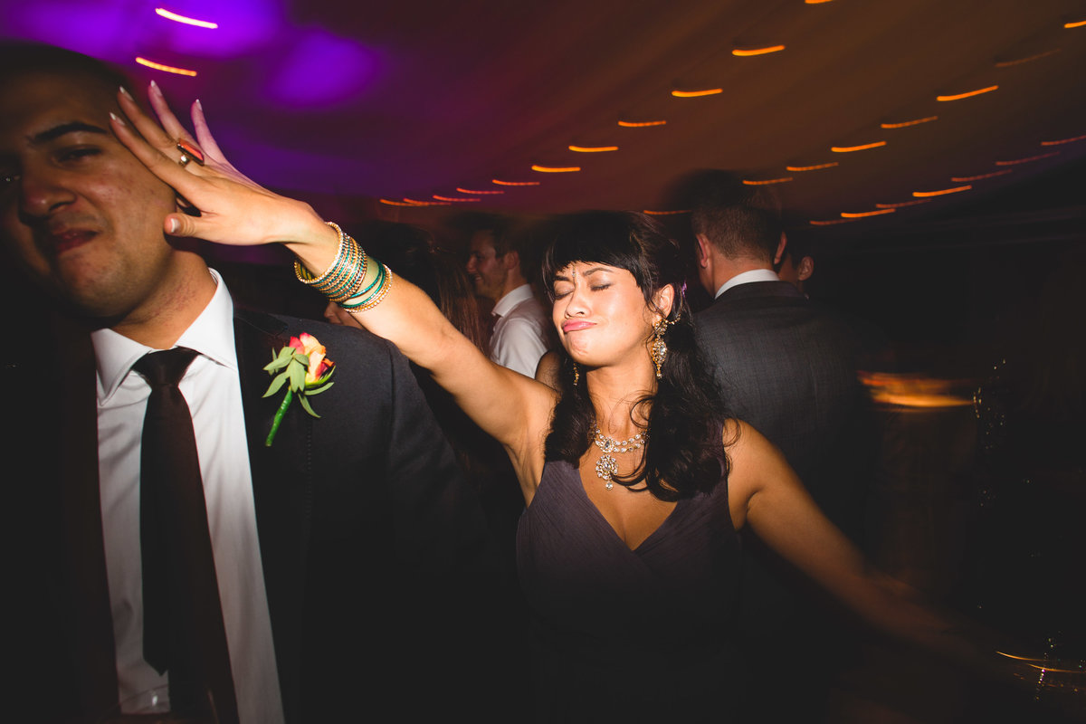 funny dancing photos in a marquee