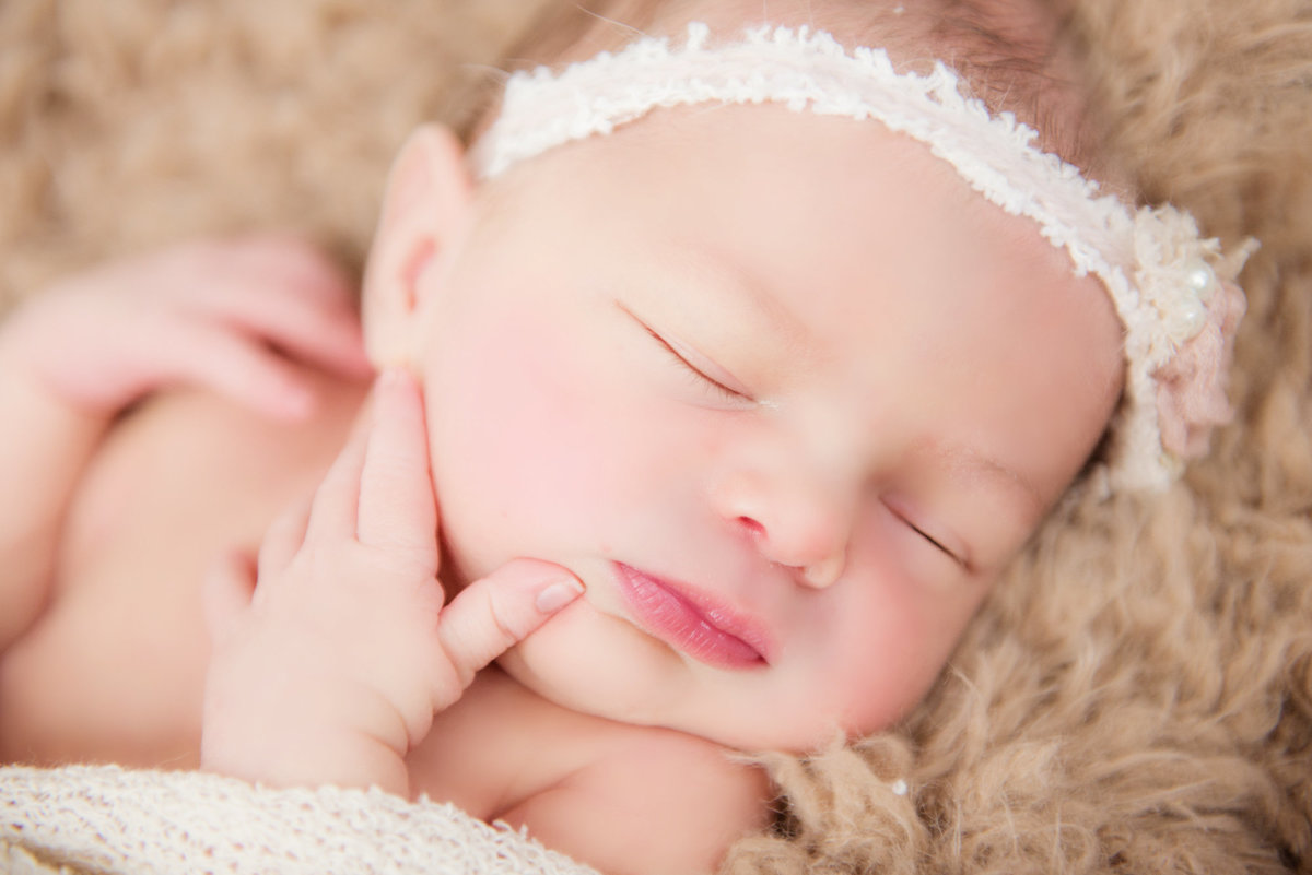 northern michigan newborn portrait photography