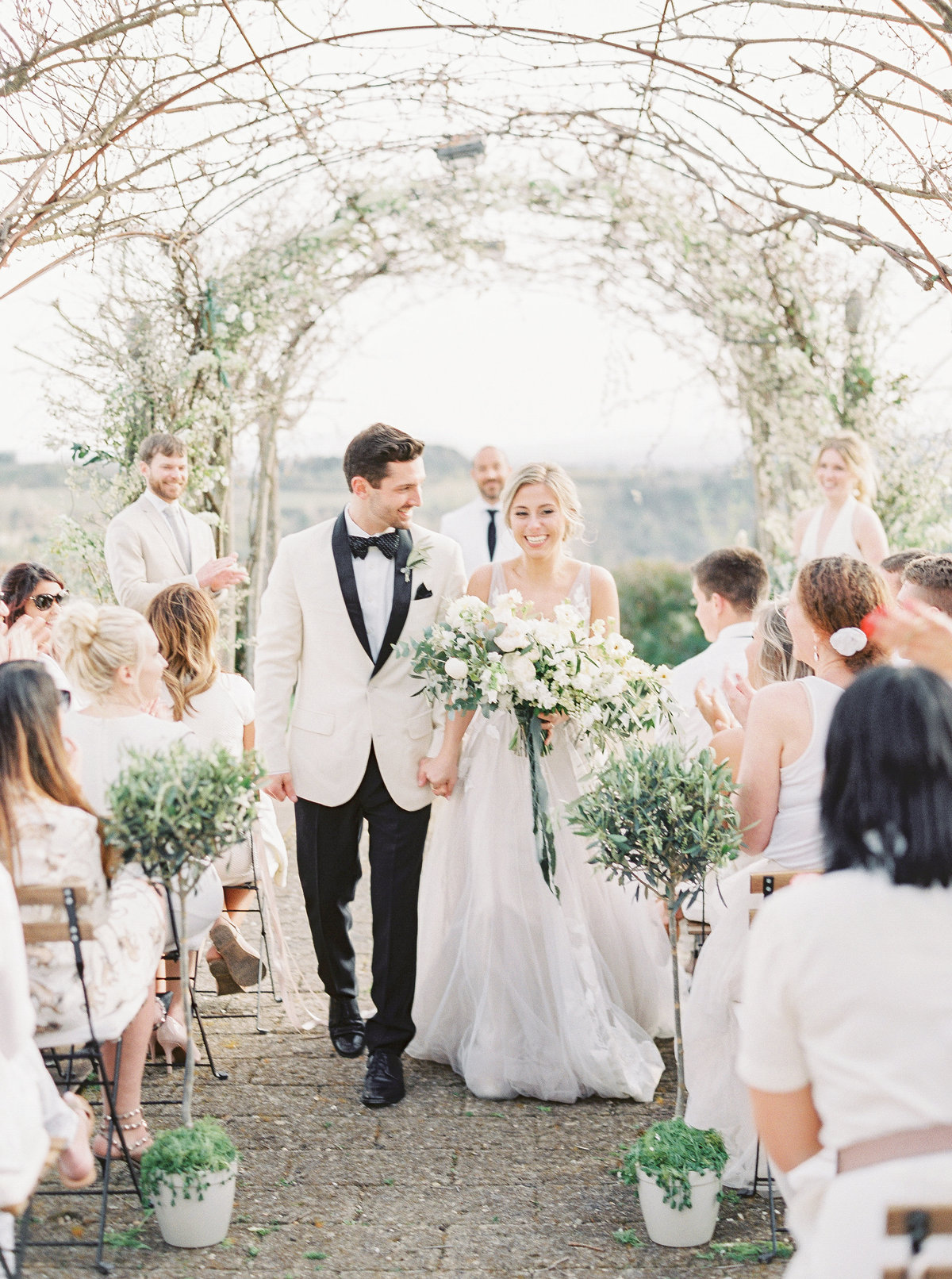 Tuscany Wedding Erica Nick - Lauren Fair Photography171