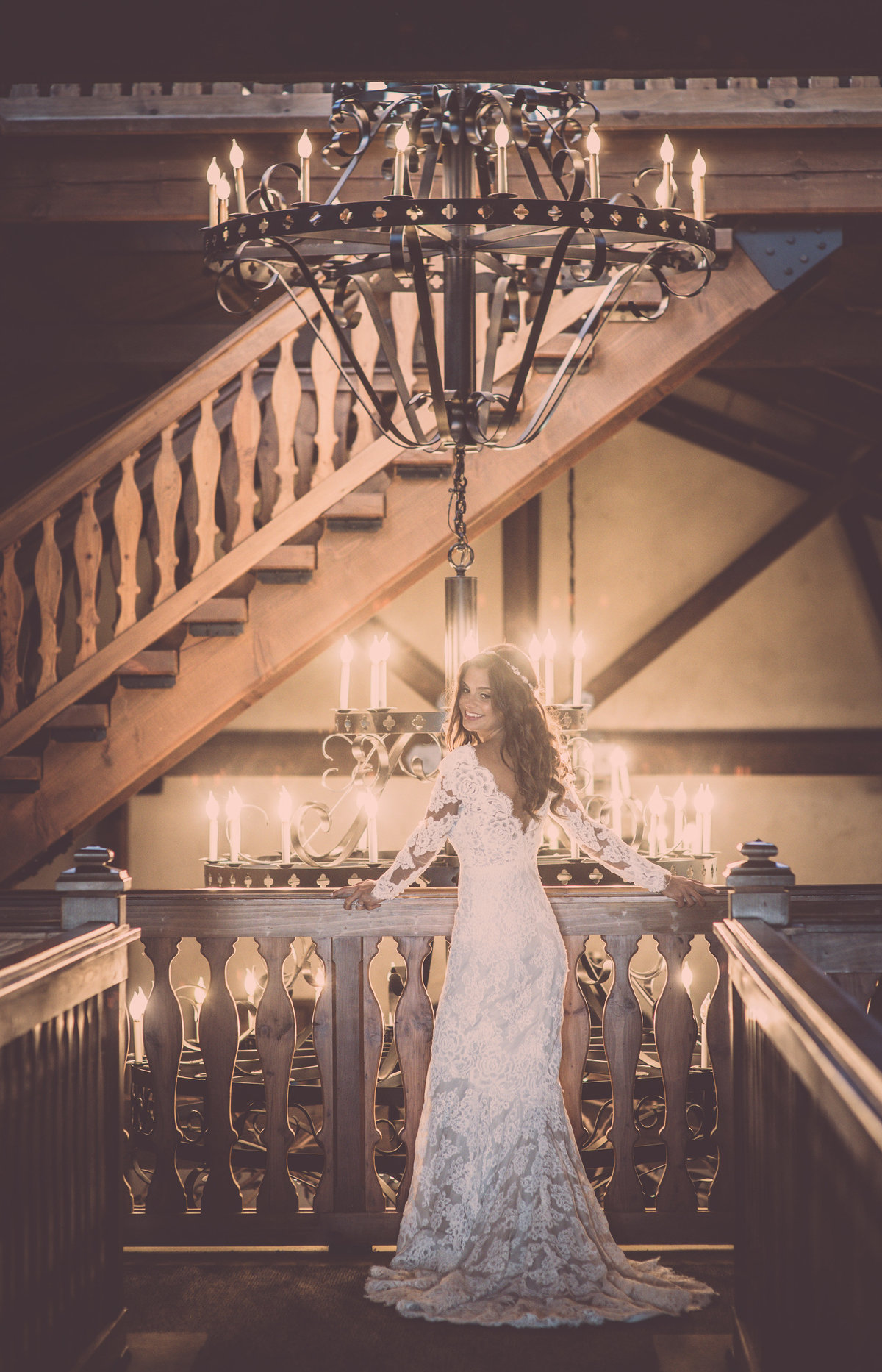 Bridal Portrait - Anne Barge Dress - Raphael Vineyards - Imagine Studios Photography - Wedding Photographer