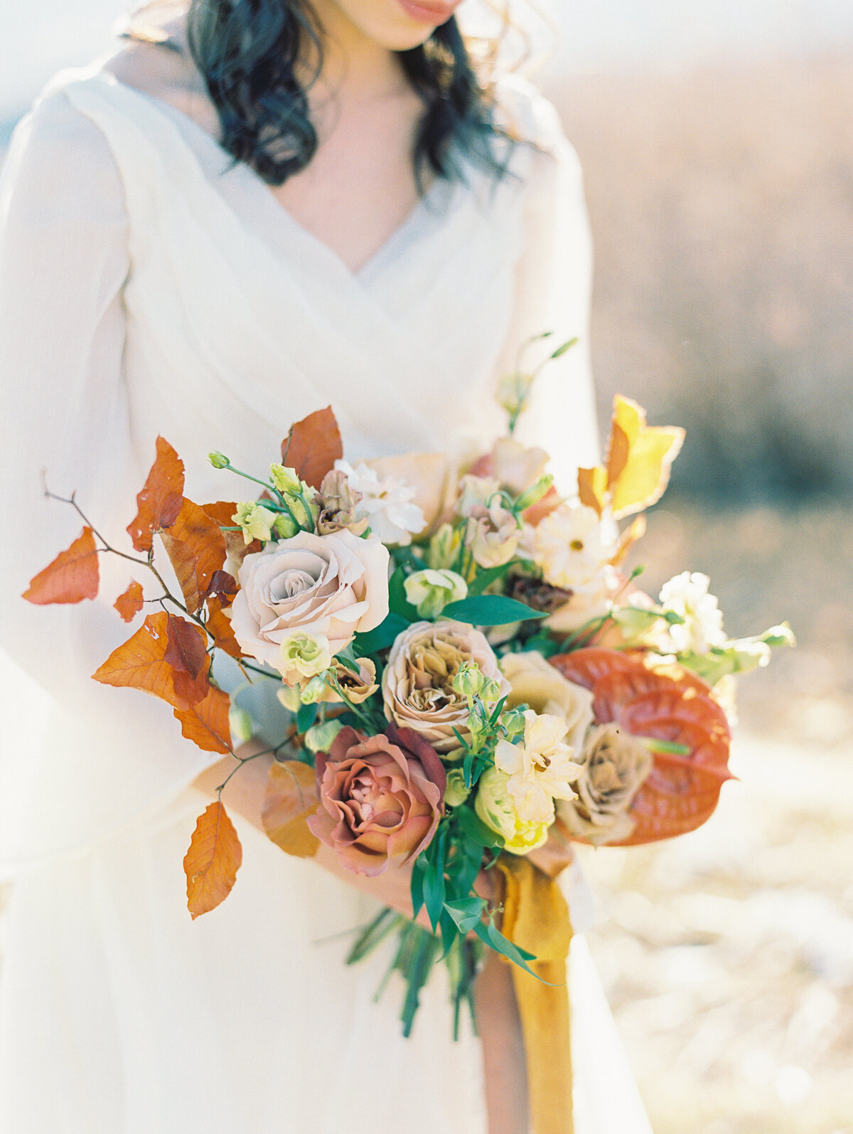 Garden of the Gods wedding Fall bouquet