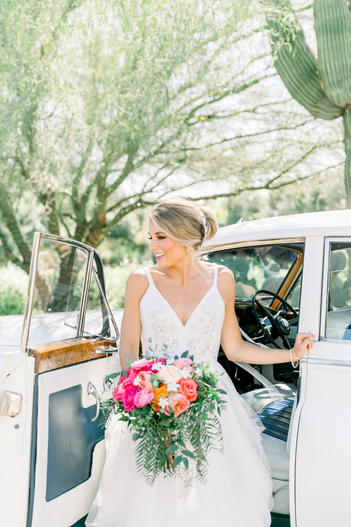 Karlie Colleen Photography - El Chorro Arizona Desert Wedding - Kylie & Doug-256