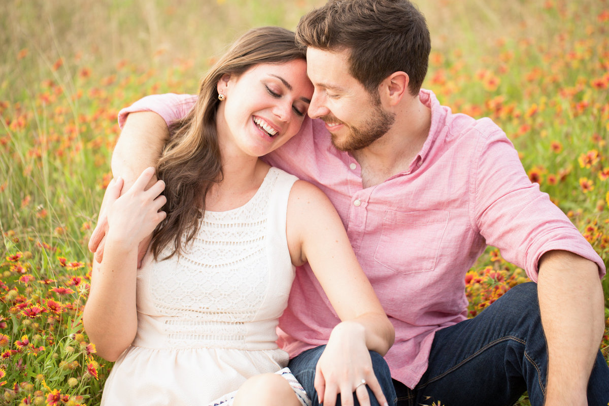 Whiterock Lake Texas Engagement Photographer