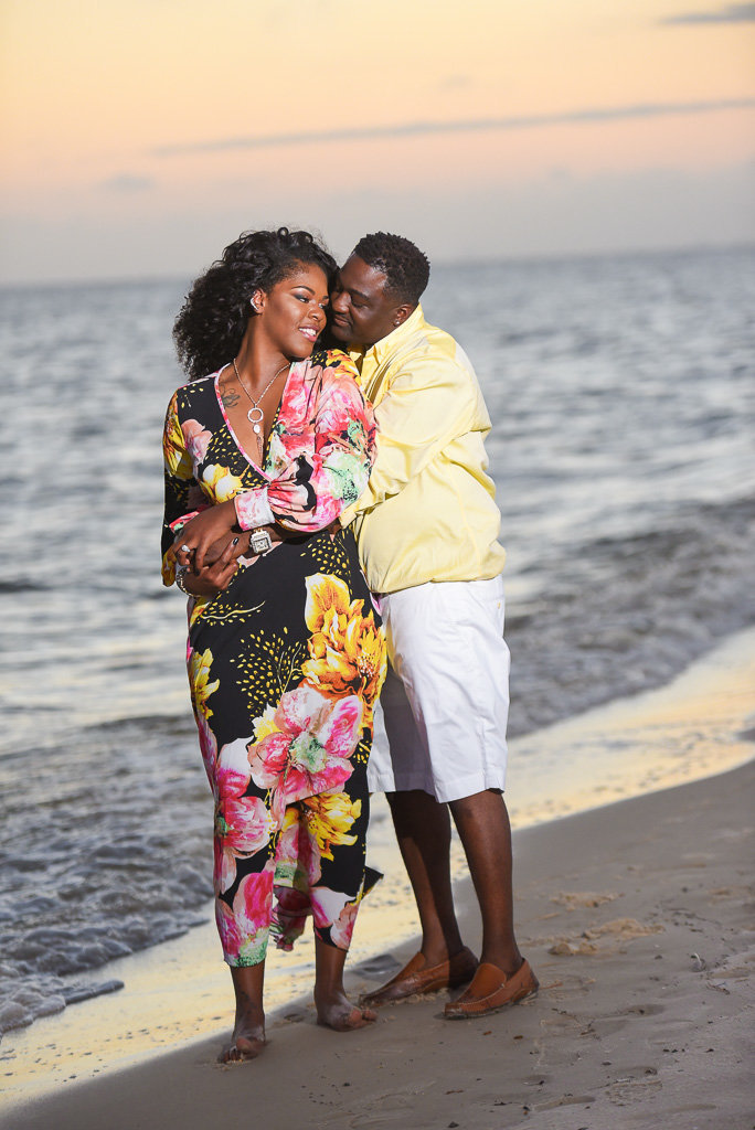Biloxi Beach engagement session-33