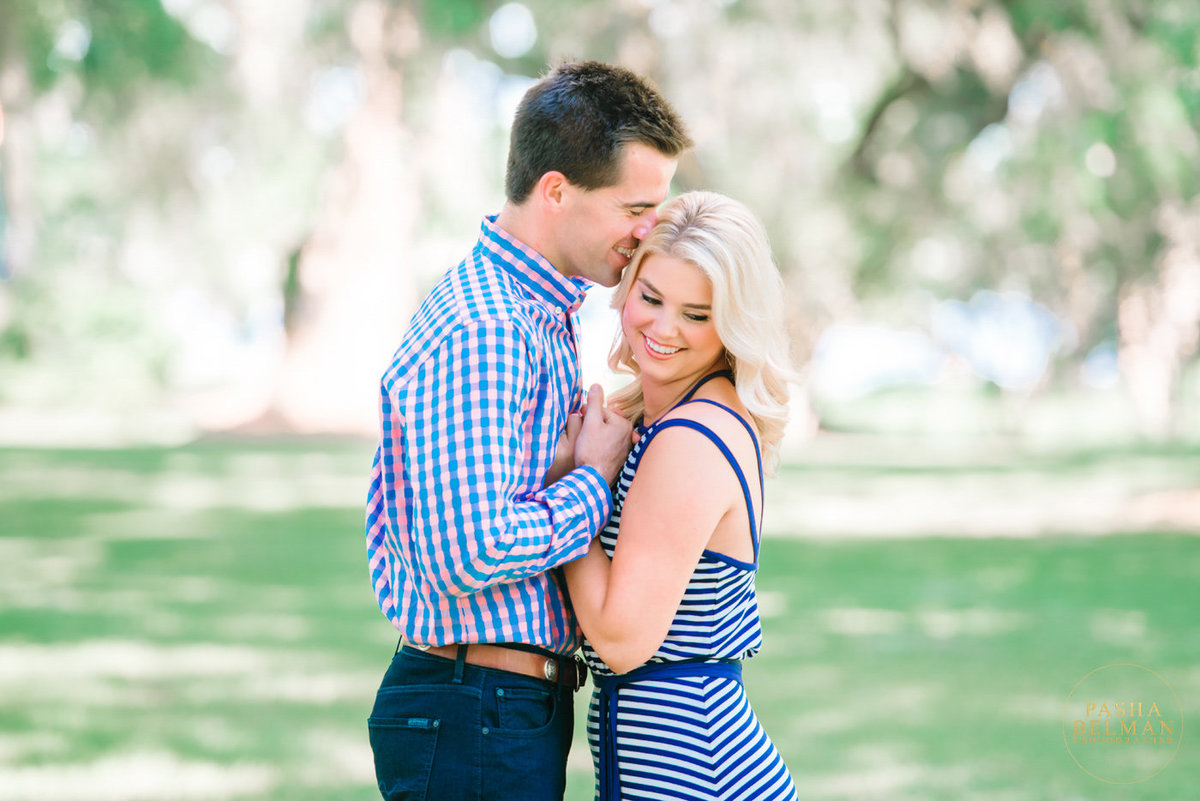 Charleston Engagement Photography | Outdoor engagement shoot with a Dog | Plantation Engagement Photography in Charleston SC | Mansfield Plantation Engagement Session