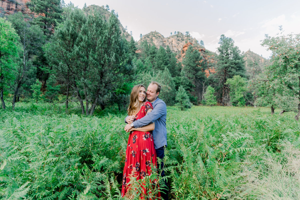 Karlie Colleen Photography - Sarah & Bradley - Sedona Arizona Engagement -21