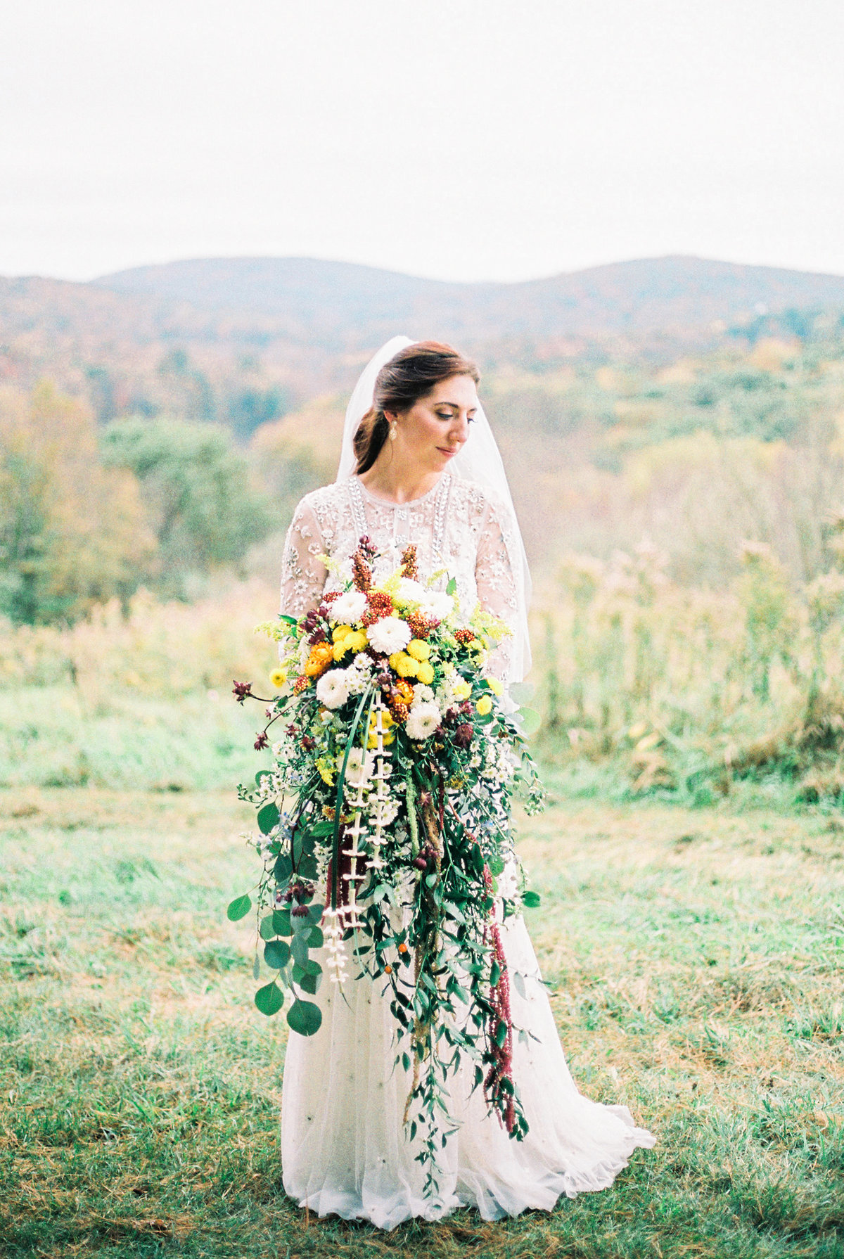 Michelle Behre Photography Private Estate Fall Wedding Dallas Pennsylvania New Jersey Fine Art Wedding Photographer New Jersey Wedding Photography Lake Louise Wedding Photographer Philly Wedding Photographer NJ Wedding Photographers BHLDN Bride-60
