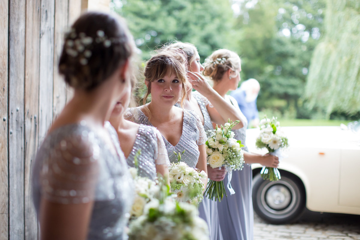 bridesmaids at haselbury mill