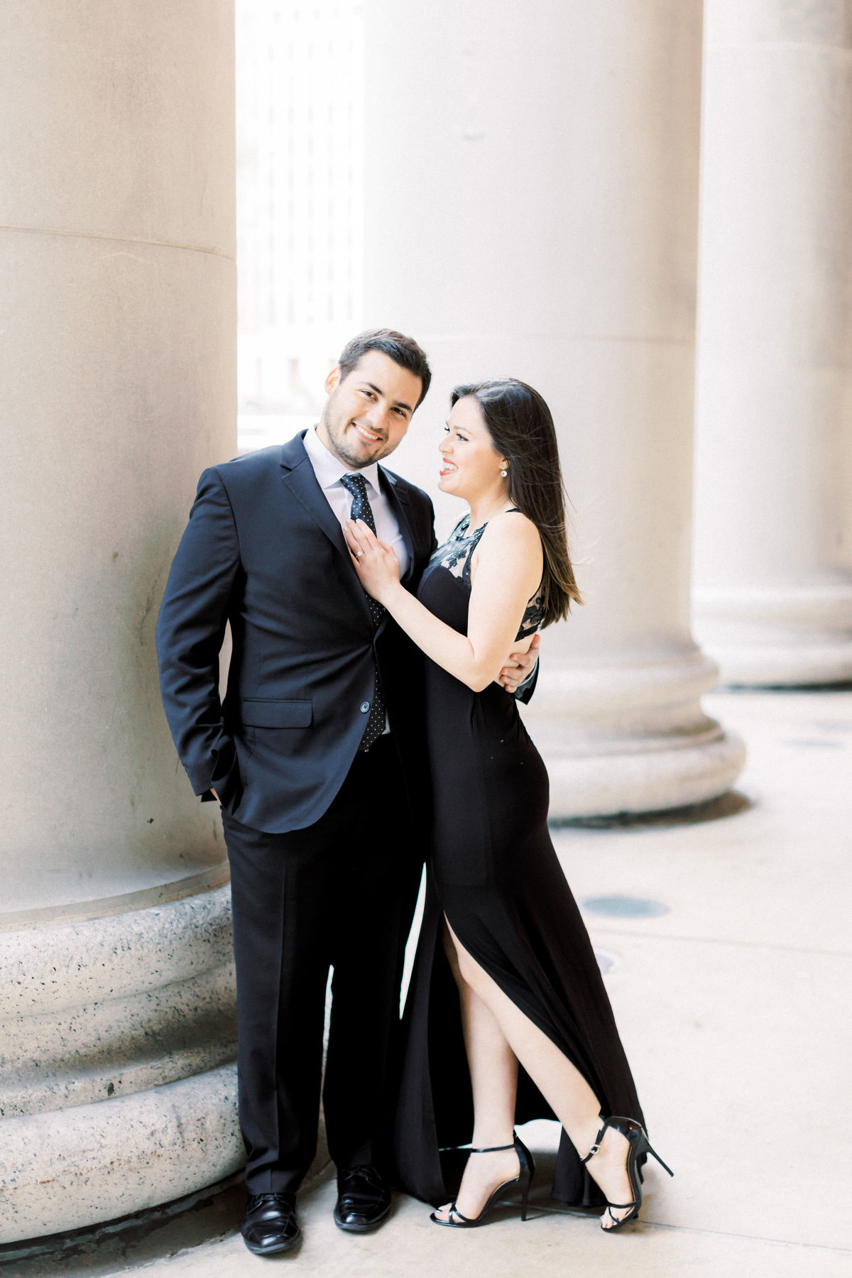 TiffaneyChildsPhotography-ChicagoWeddingPhotographer-Alana+Giancarlo-NorthAvenueBeachUnionStationEngagementSession-86