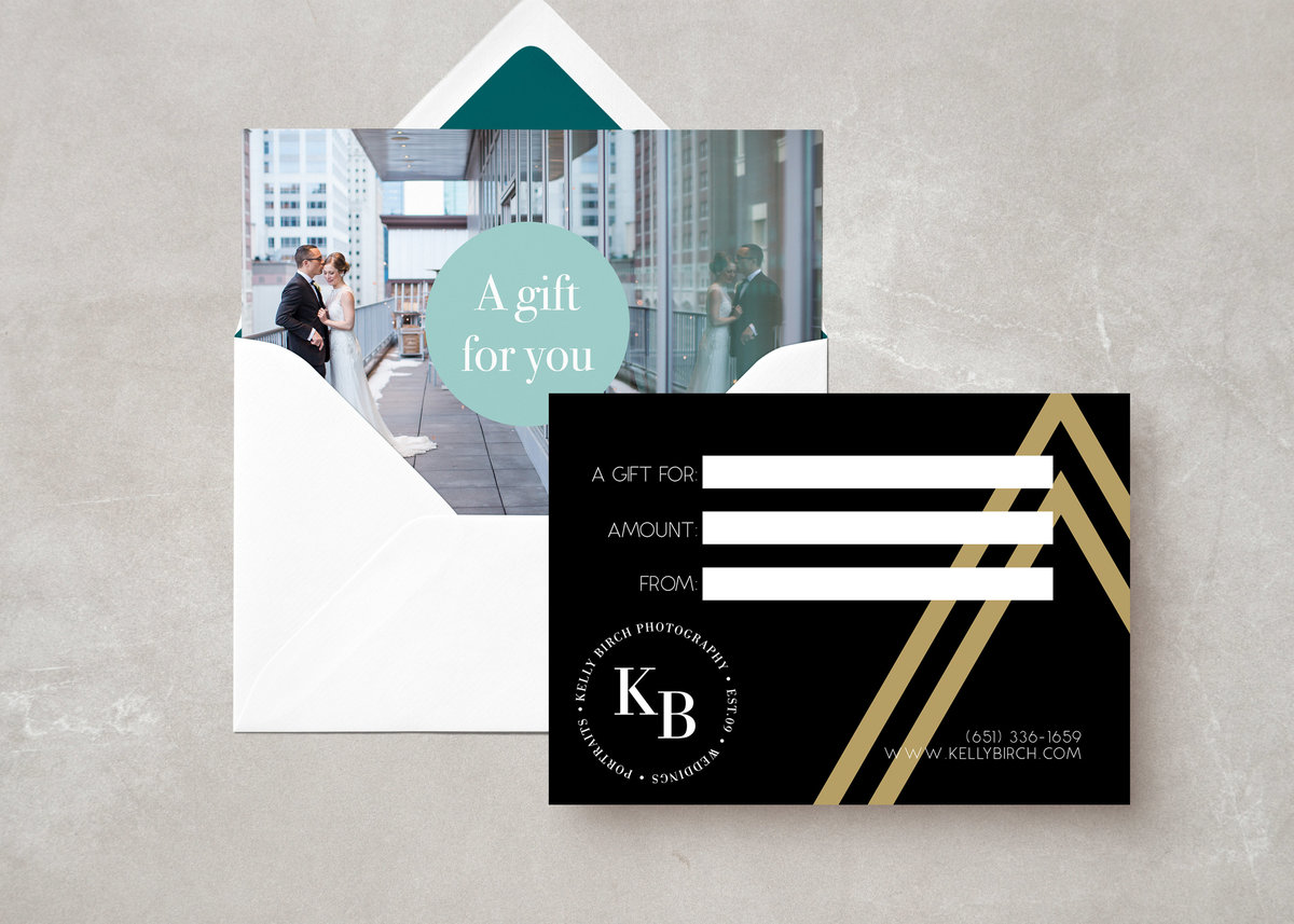 KB Card Envelope MockUp