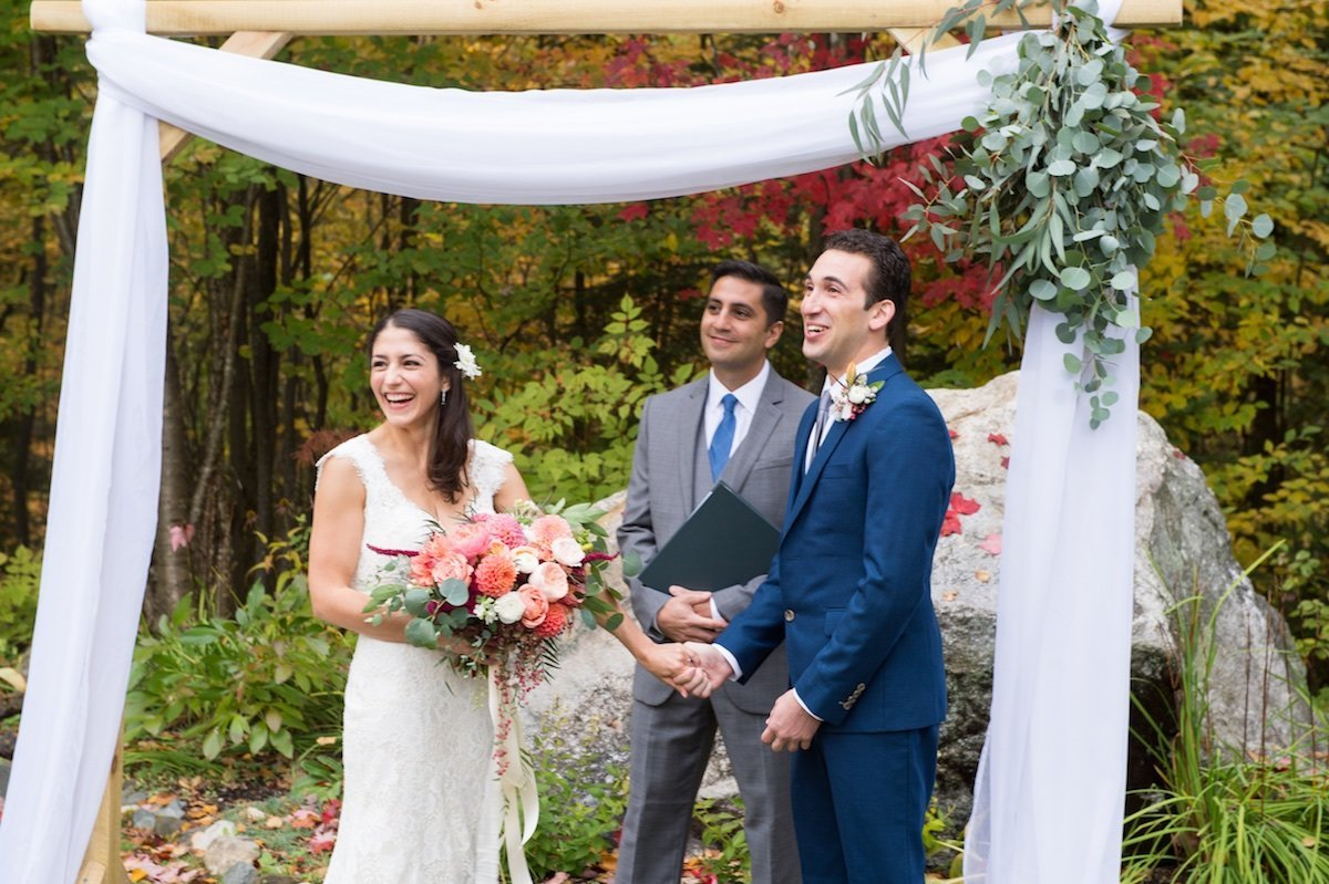 photographer for intimate small wedding at the Notch House at Lake Willoughby in Vermont 1