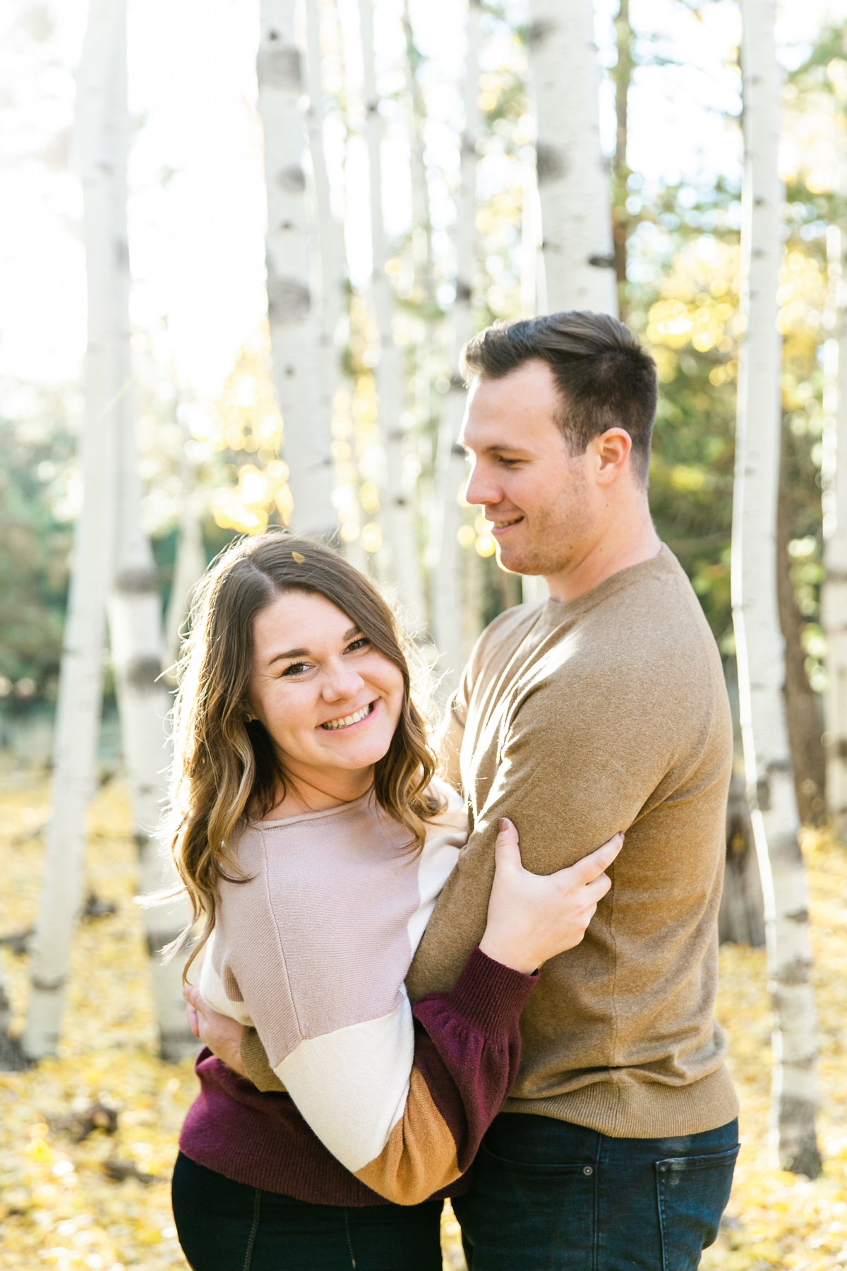 Karlie Colleen Photography - Flagstaff Arizona Engagement Photographer - Britt & Josh -100