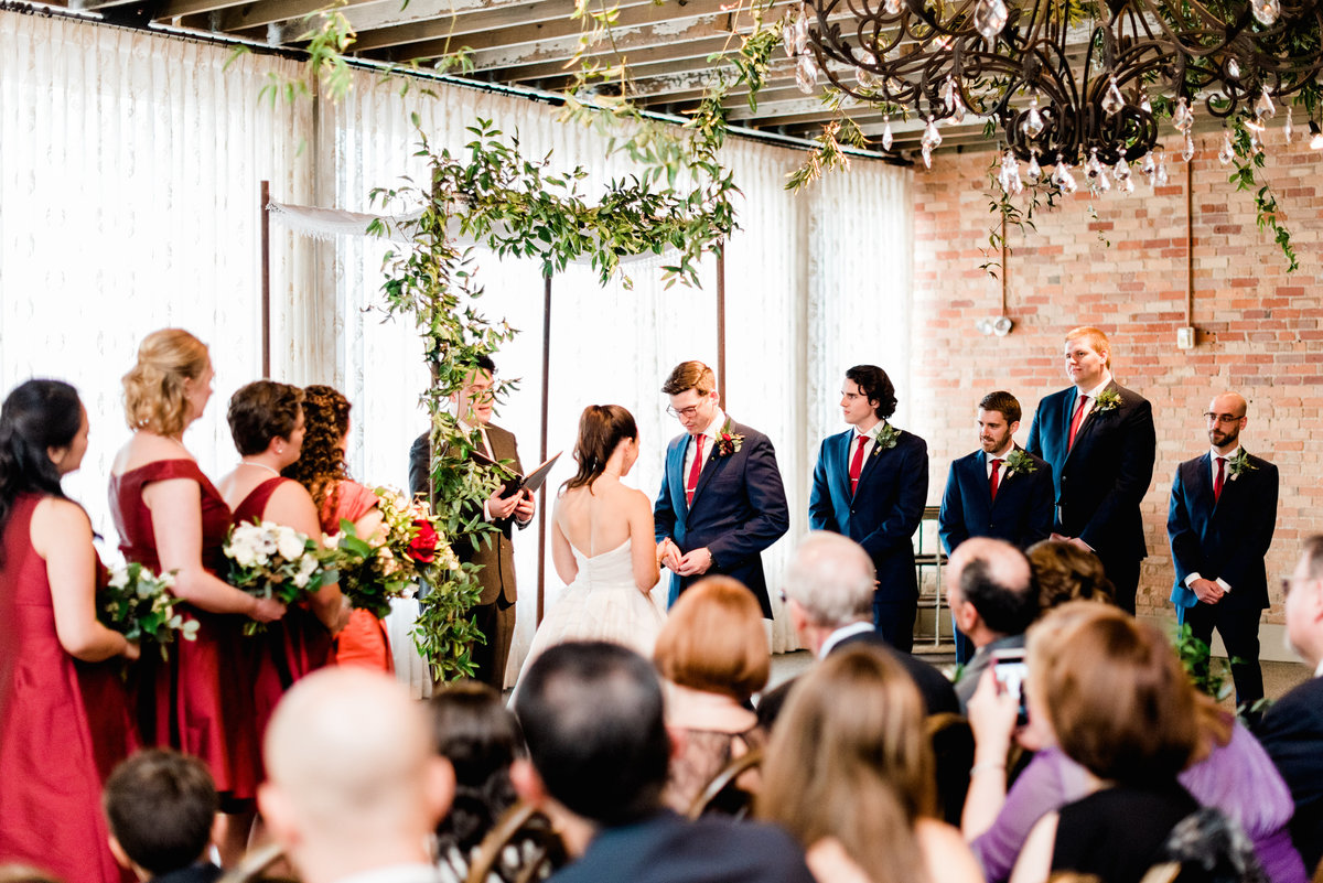 industrial wedding inspiration photo