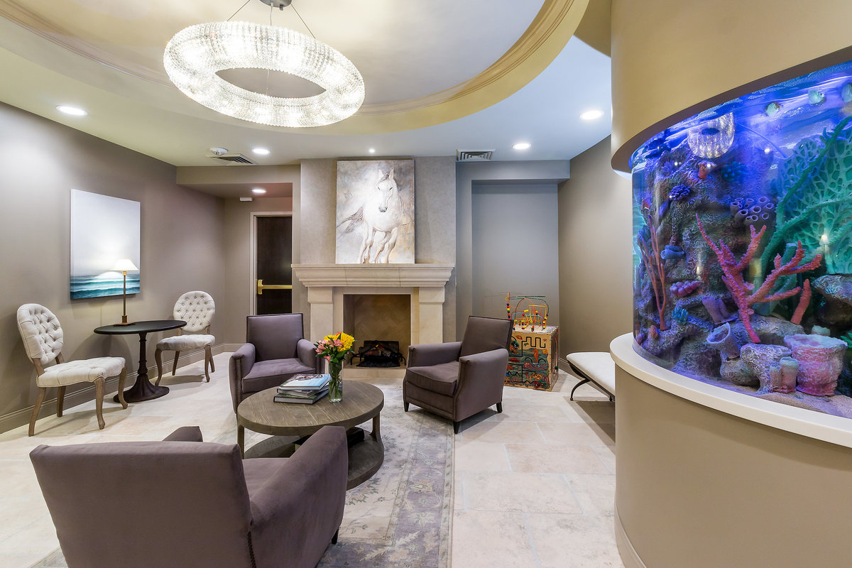 Dental Office Design Dental Office Waiting Area Fish Tank Design