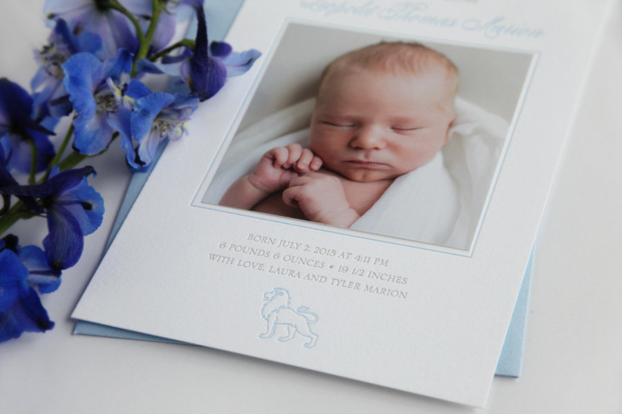 Birth-announcement-blue-lion-letterpress-3