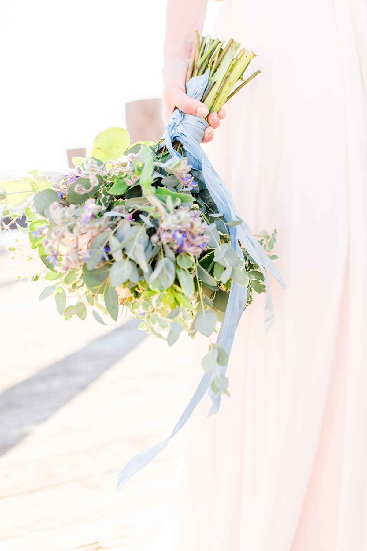 pastel wedding light and airy photographer chesapeake charm photography