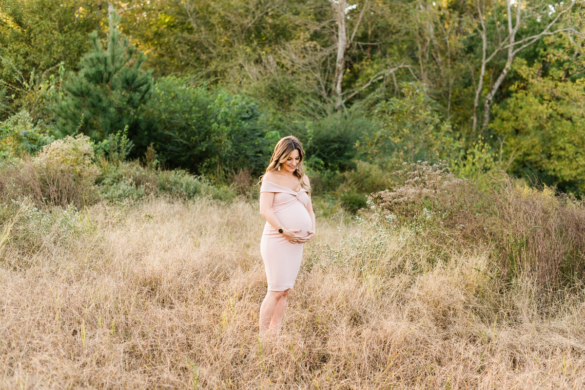 wake forest, nc maternity photos photo