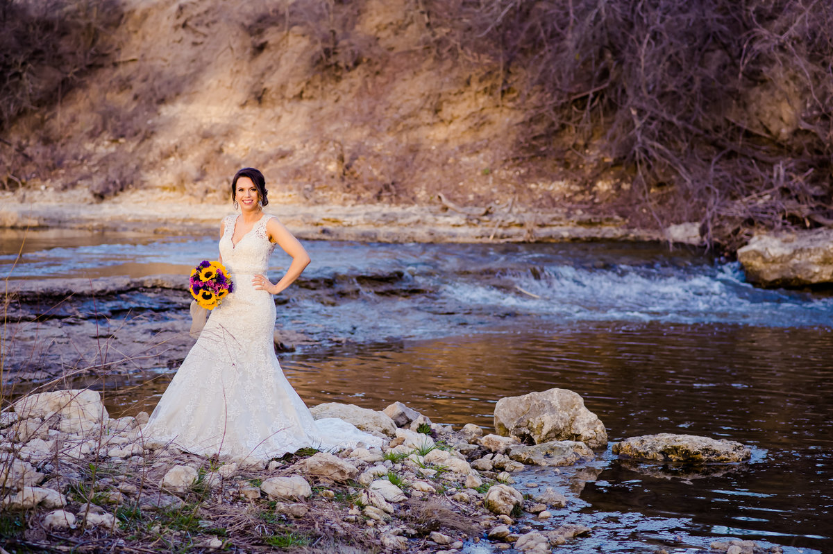 bride in creek Decatur