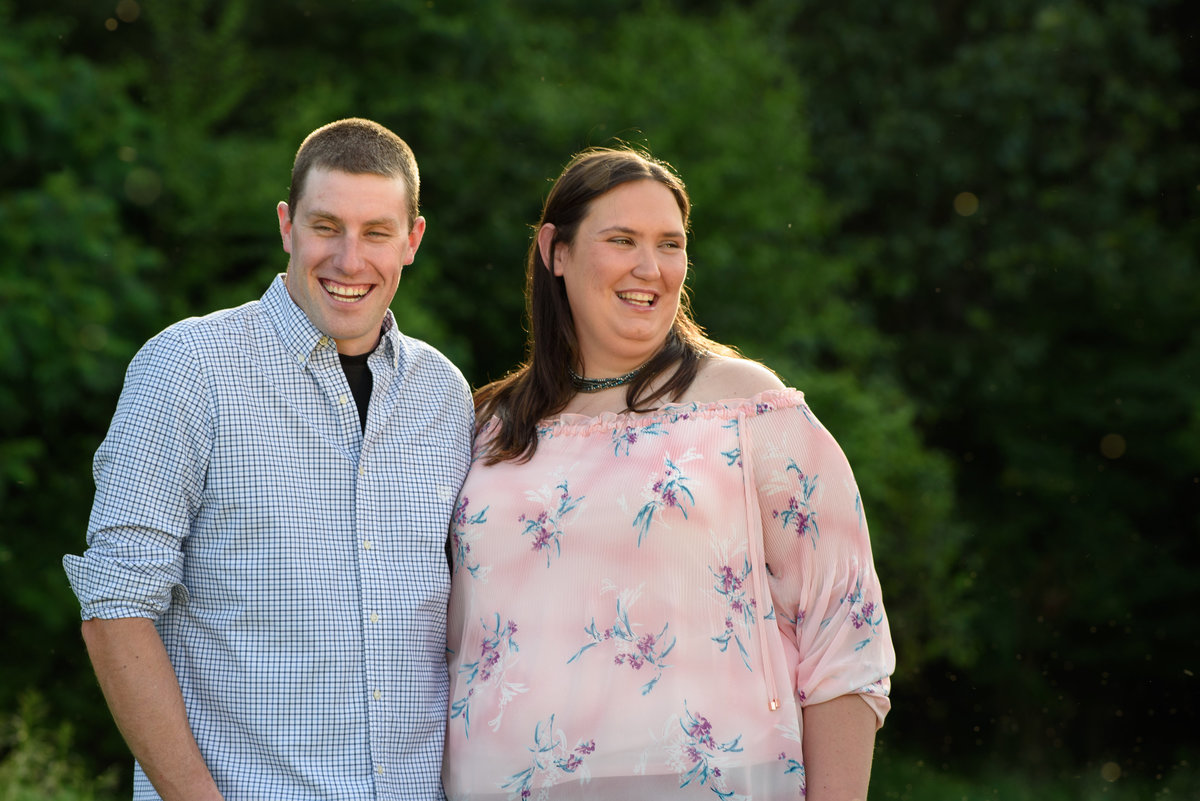 Meadow Hill Farm, Melrose, NY, horse farm engagement session