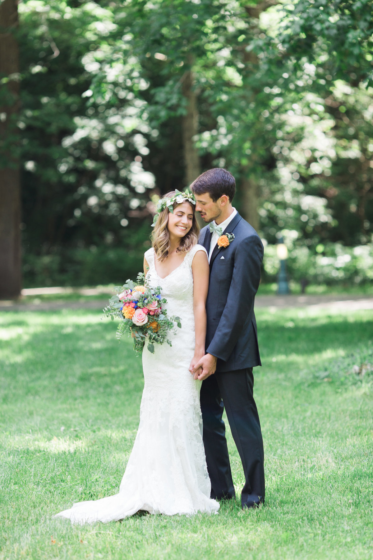 Charley Creek Gardens Wedding Romantic Photo