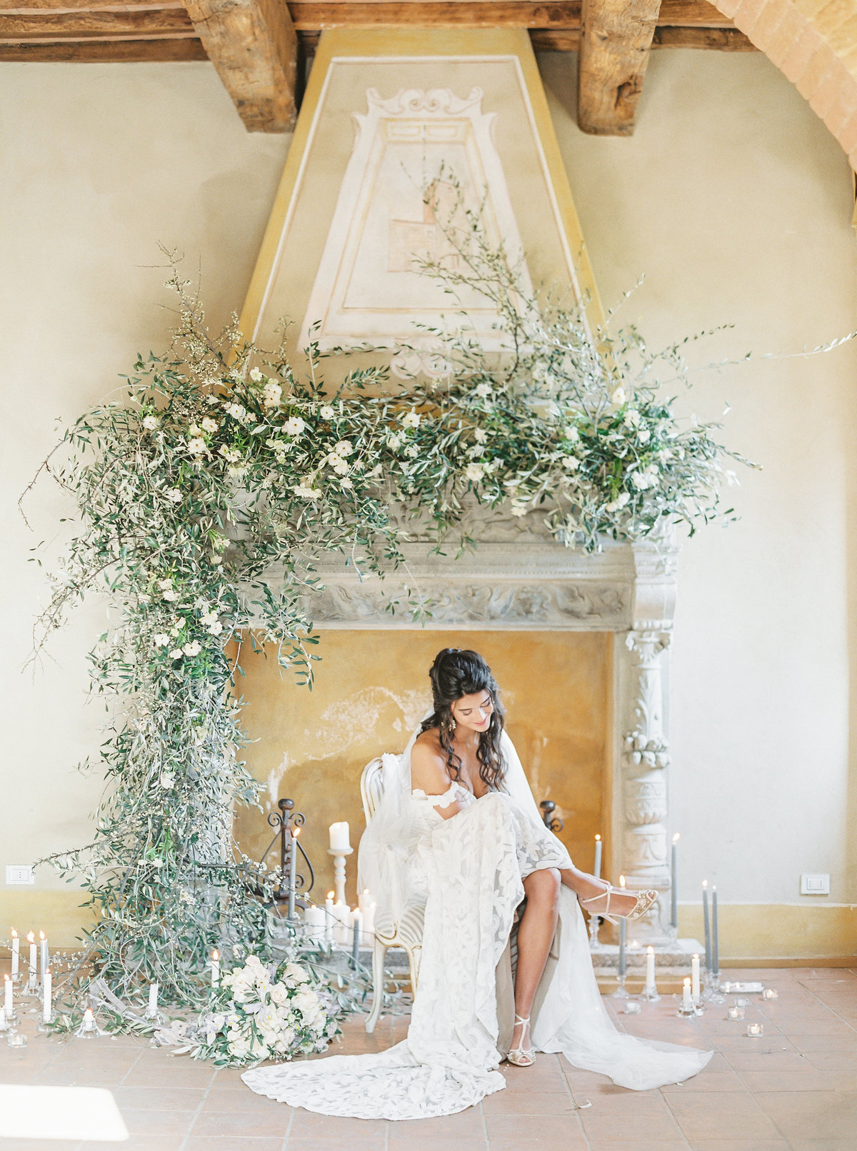 Tuscany Bridal Session LFP14