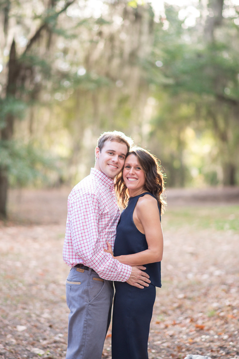 Sunset Engagement Session by Georgia Wedding Photographer Eliza Morrill-5