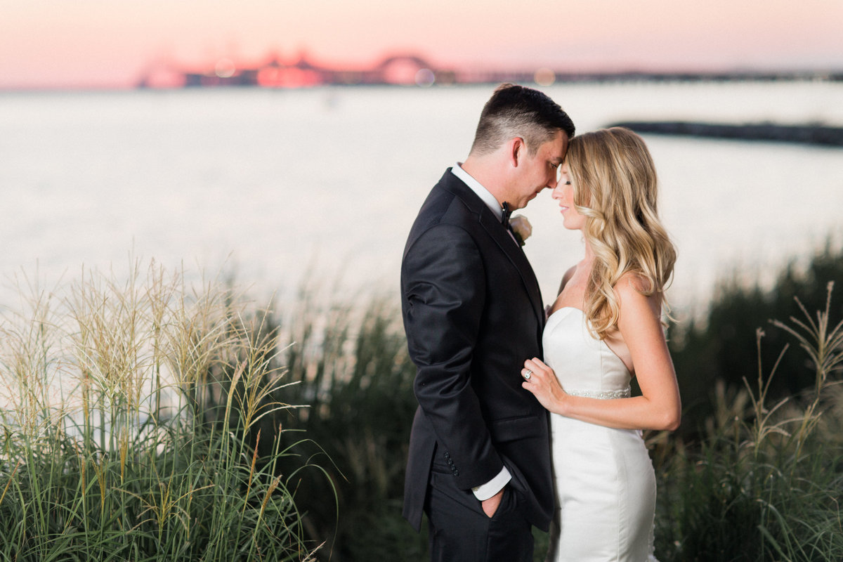 14_coastal_sunset_wedding_portrait