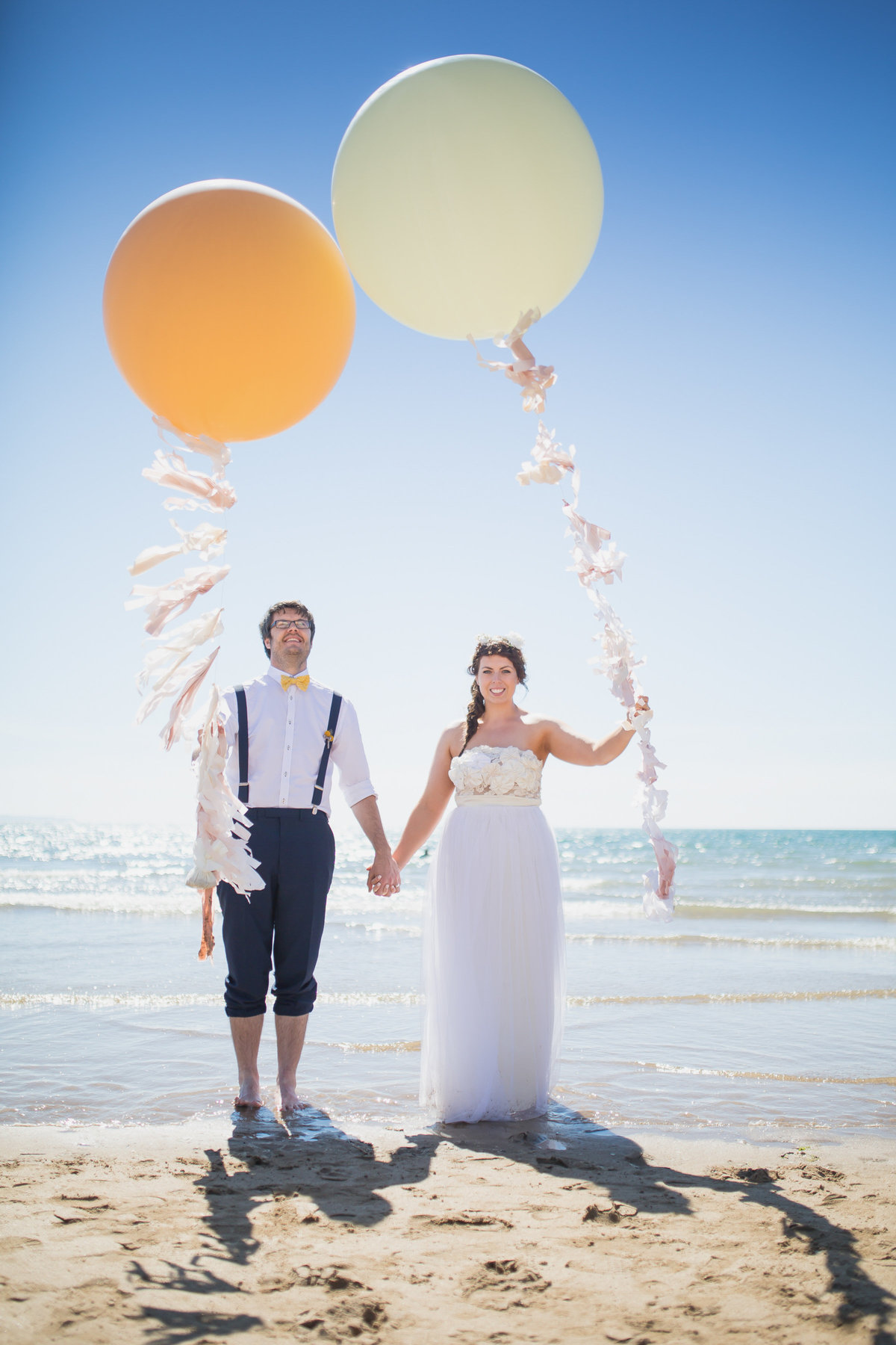 the giant balloon company wedding photo