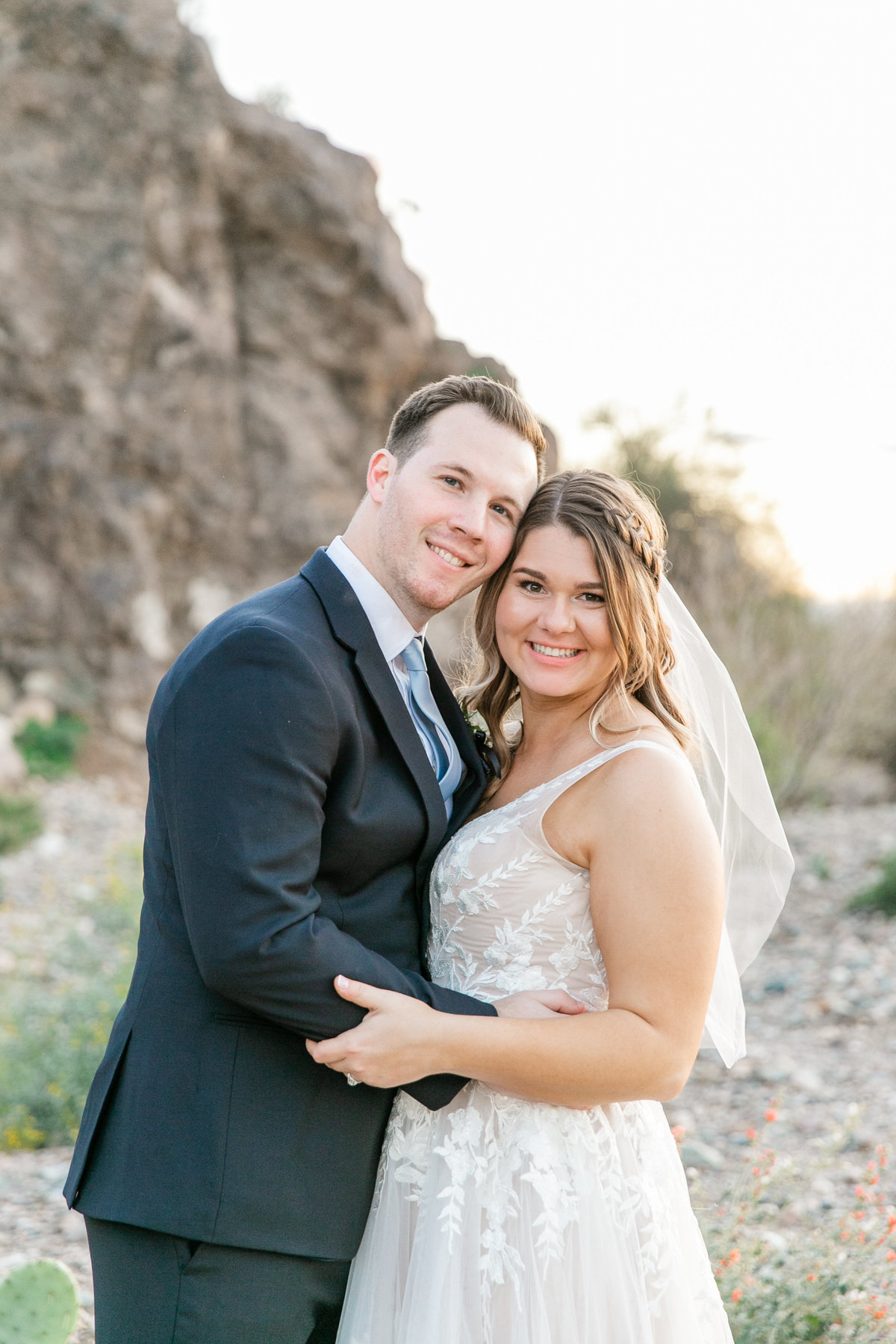 Karlie Colleen Photography - Arizona Backyard wedding - Brittney & Josh-236