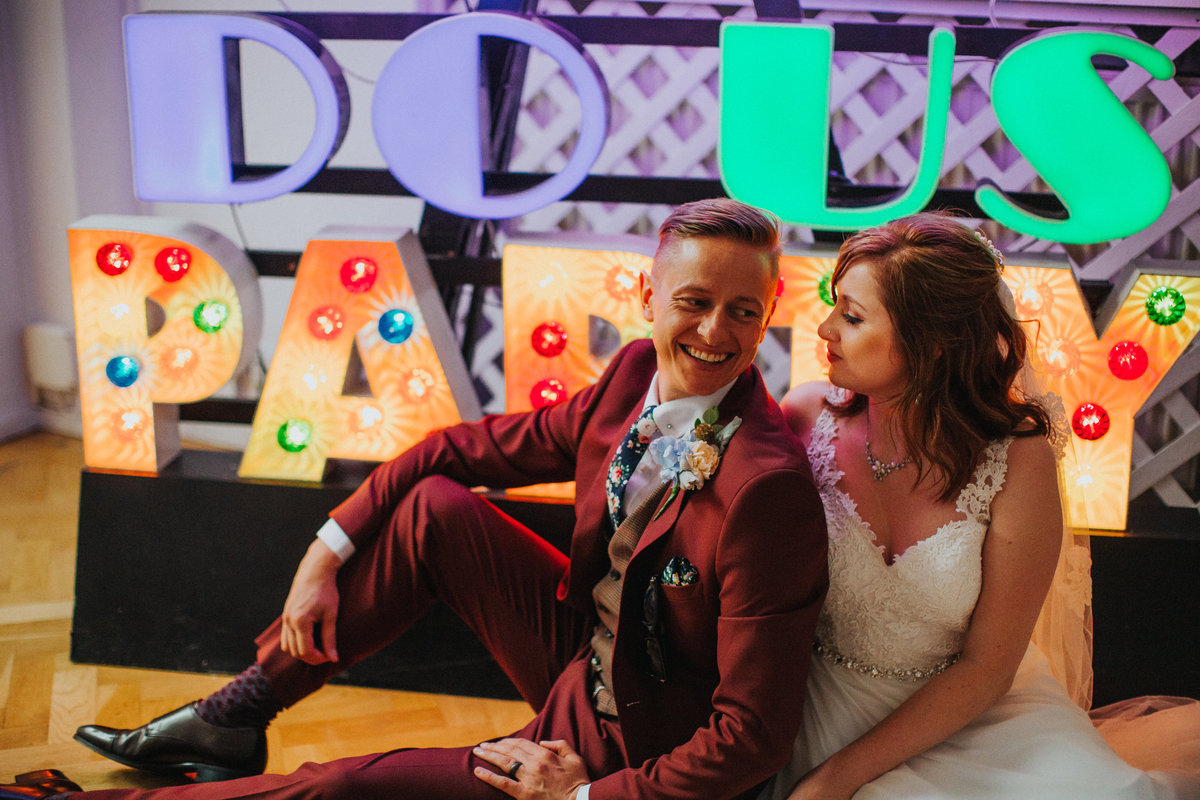 Digbeth Wedding -- Danielle & Anthony- Electric Blue -2