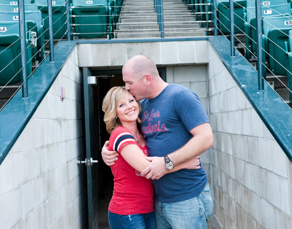 Fargo red hawks engagement sessions kris kandel