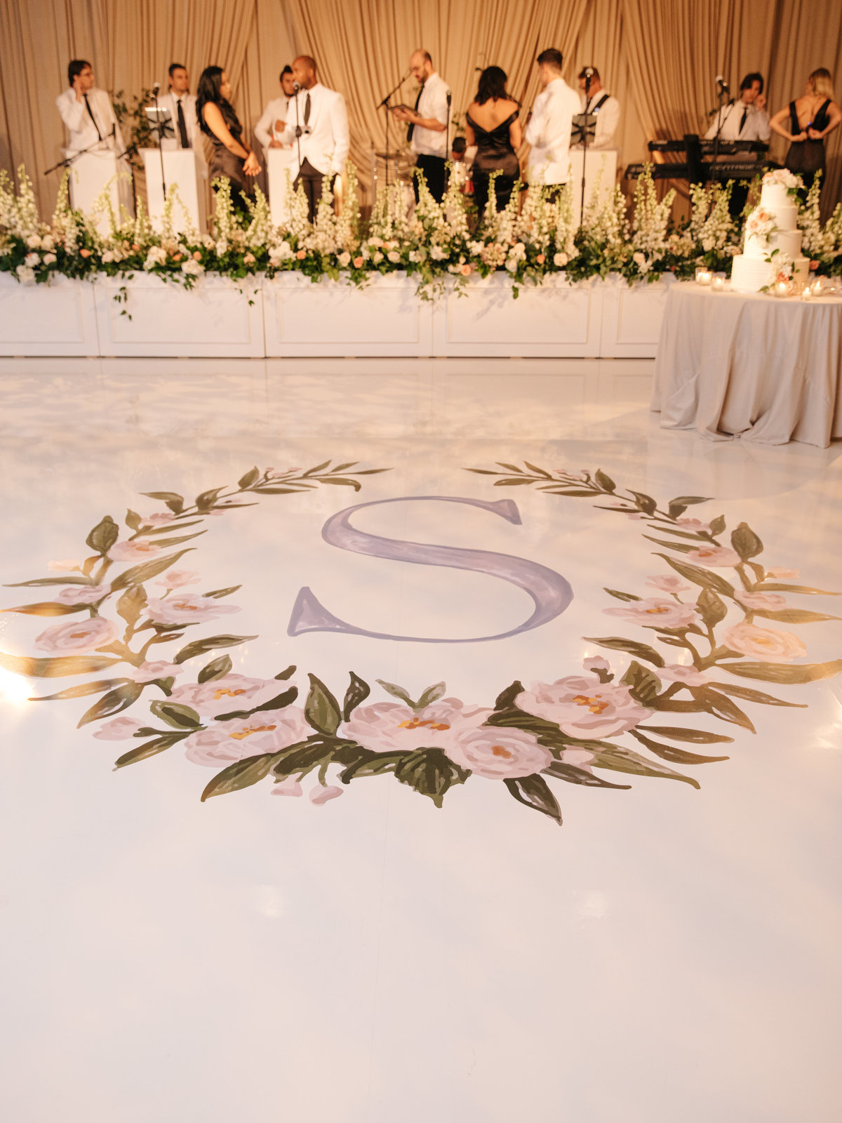 Four Seasons Wedding Dance Floor