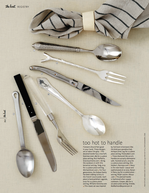 Sarah Kay Love Featured Work Flatware 2