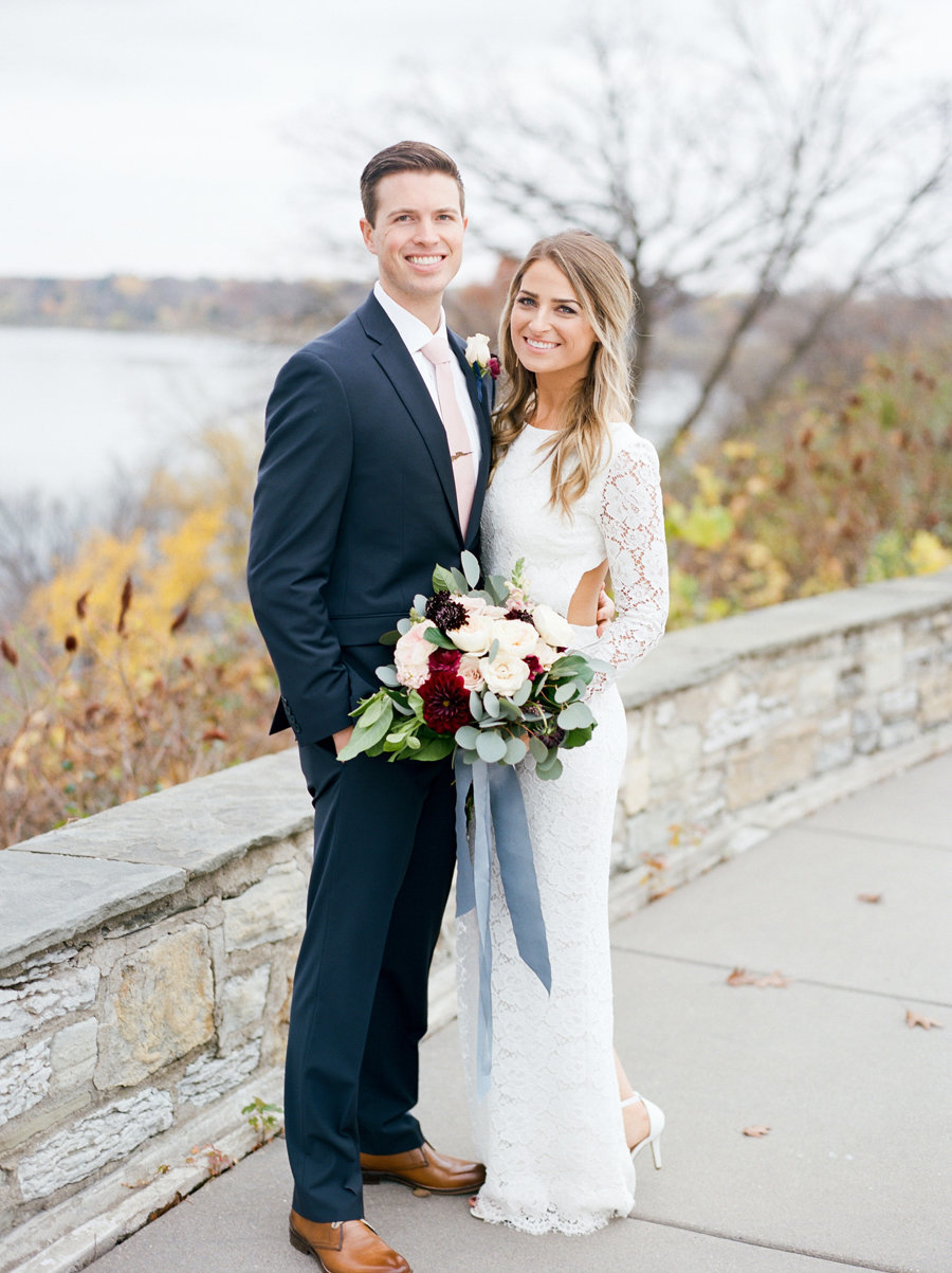 Fall Wedding in Minneapolis