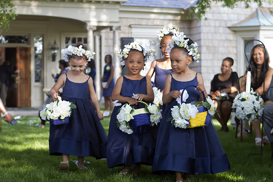 flower girls wedding durham