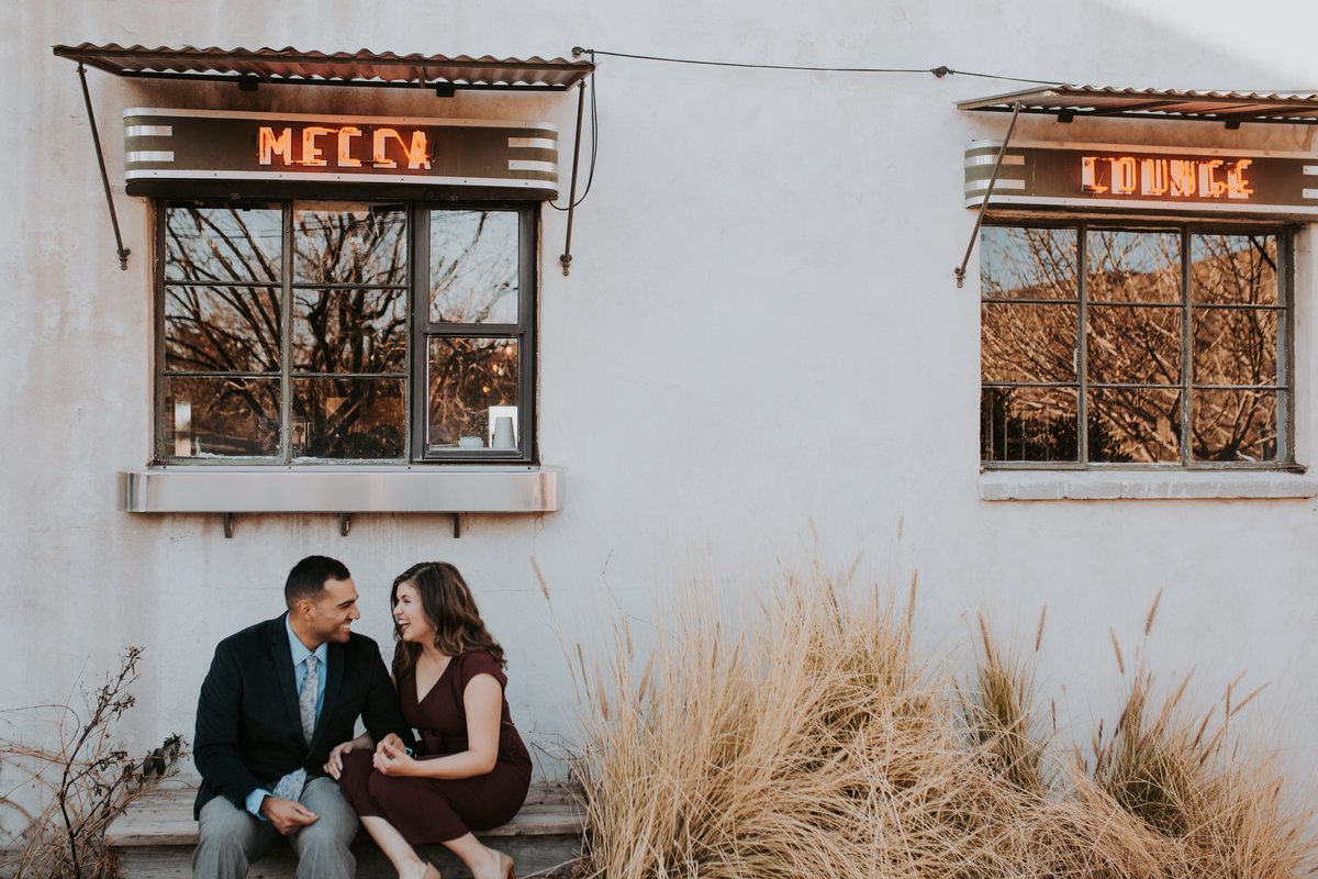 Courtney + Luis - Ardovino's Desert Crossing Engagement Photos Life In Tandem Photography-7