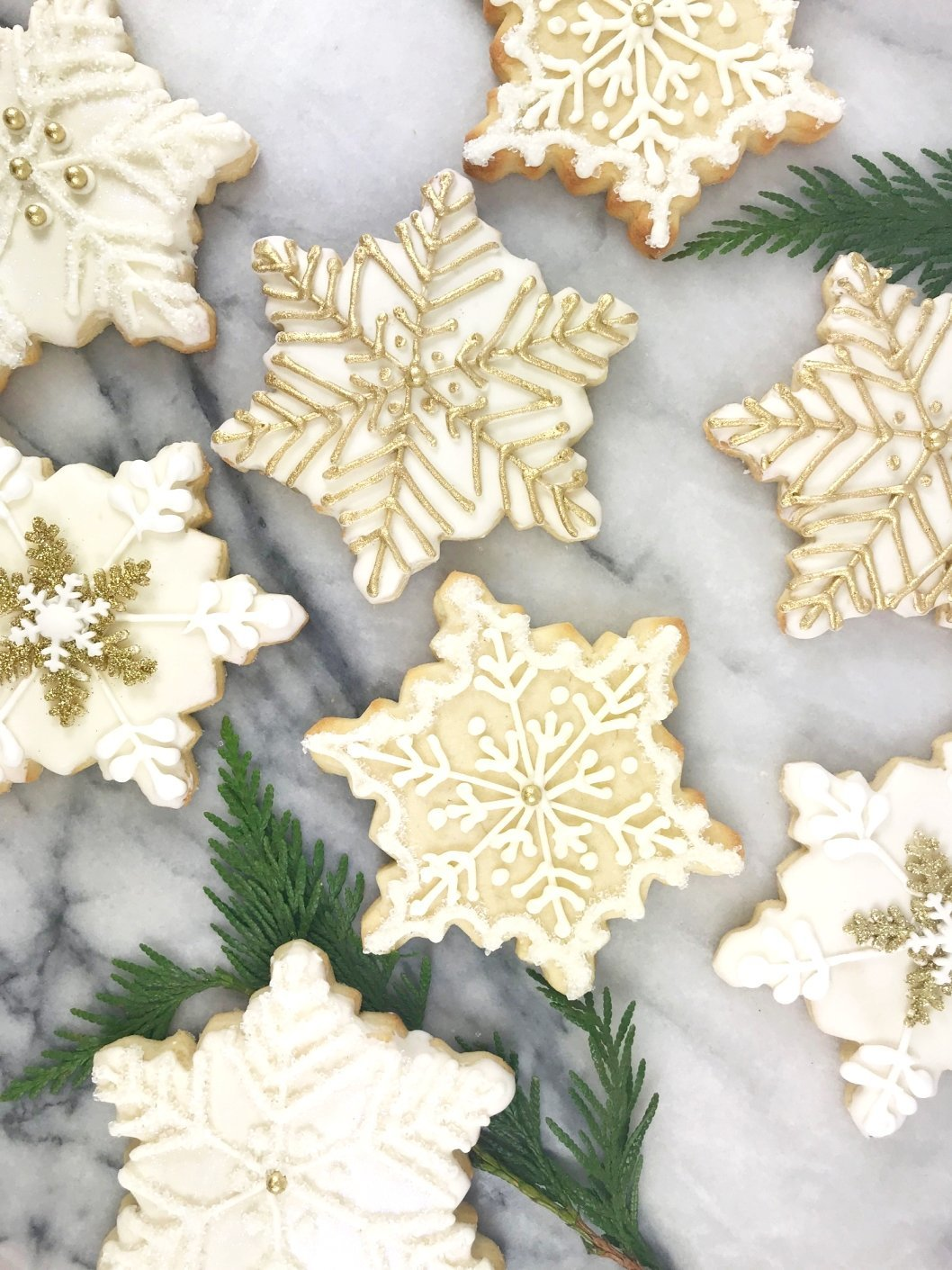 Whippt Desserts - sugar cookie snowflakes
