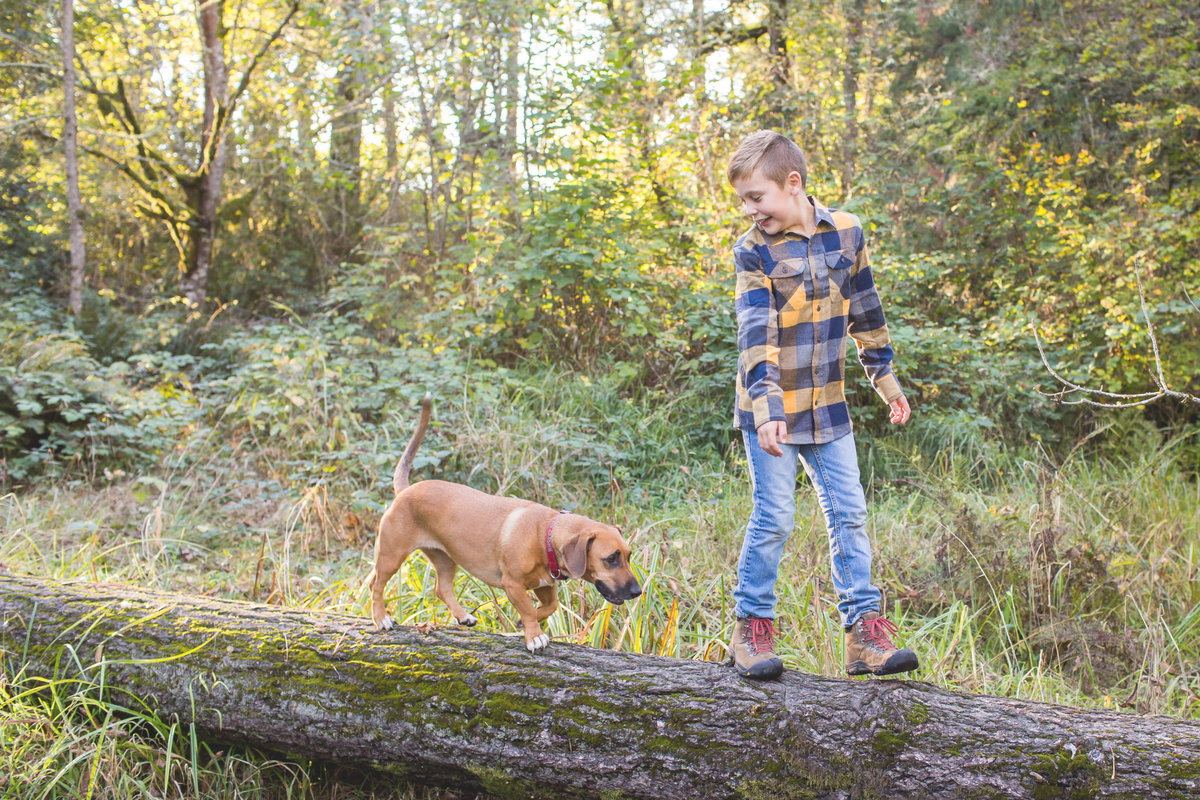 Portland Oregon Forest Park Family Photos