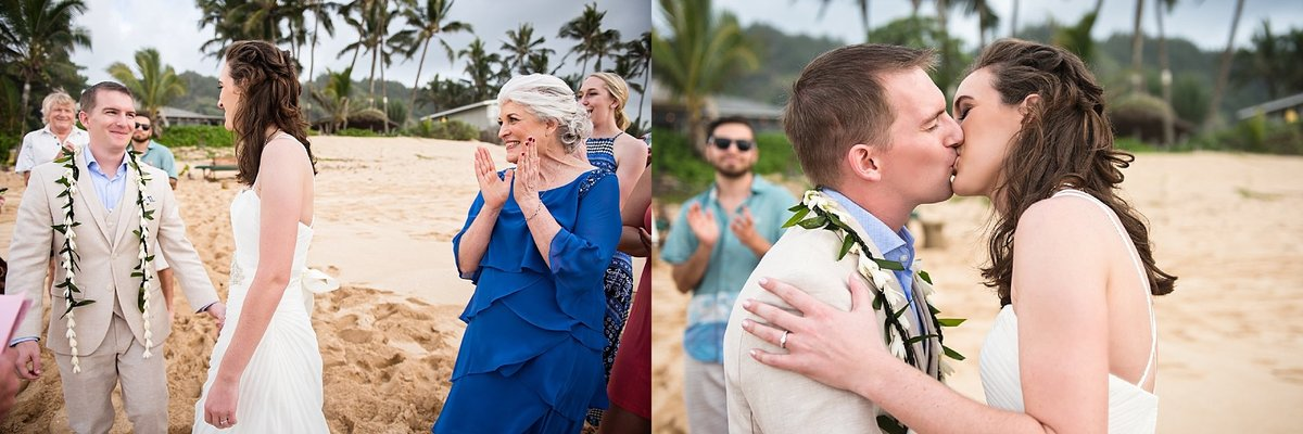 Sunset Beach Oahu Hawaii Wedding_100