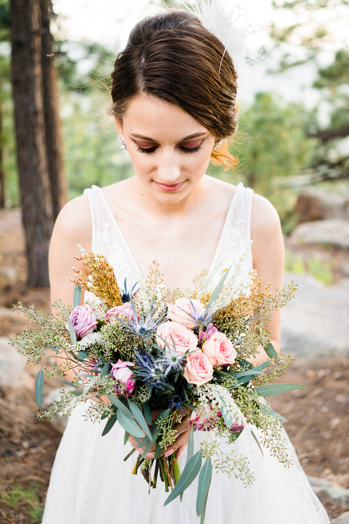 Mountain Elopement Wedding In Arizona  - Atlas Rose Photography AZ 04