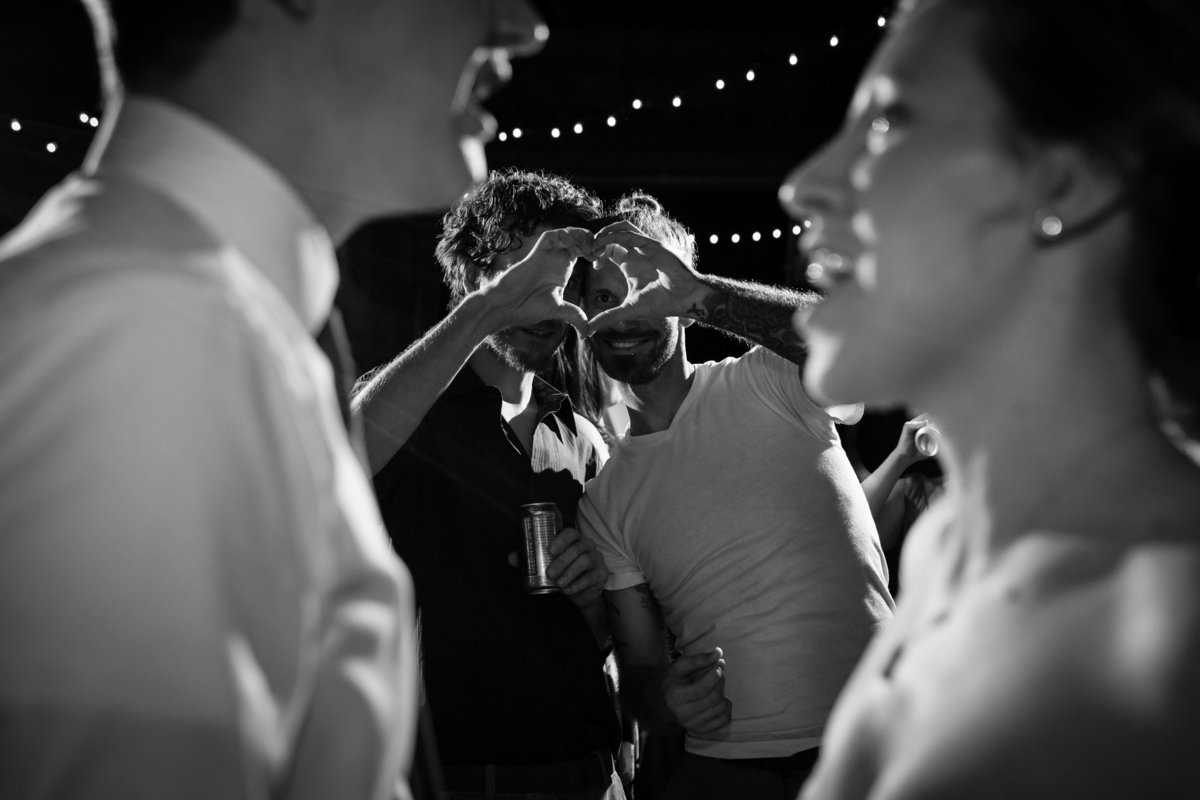 Shady Lane Farm Maine Wedding Photographers Reception Dancing Barn Photo