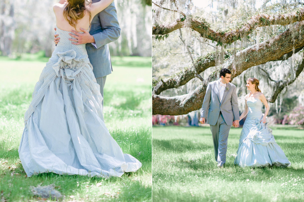 Breathtaking Backdrop And Wedding Photography At Magnolia Plantation Gardens In Charleston Sc