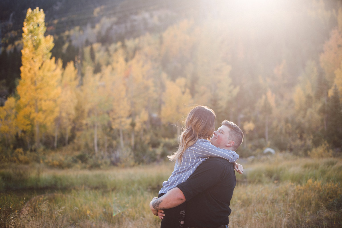 colorado fall engagement