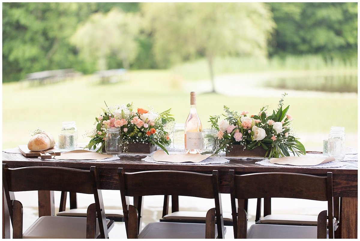 Southern Peach Styled Shoot Arbor Haven-035