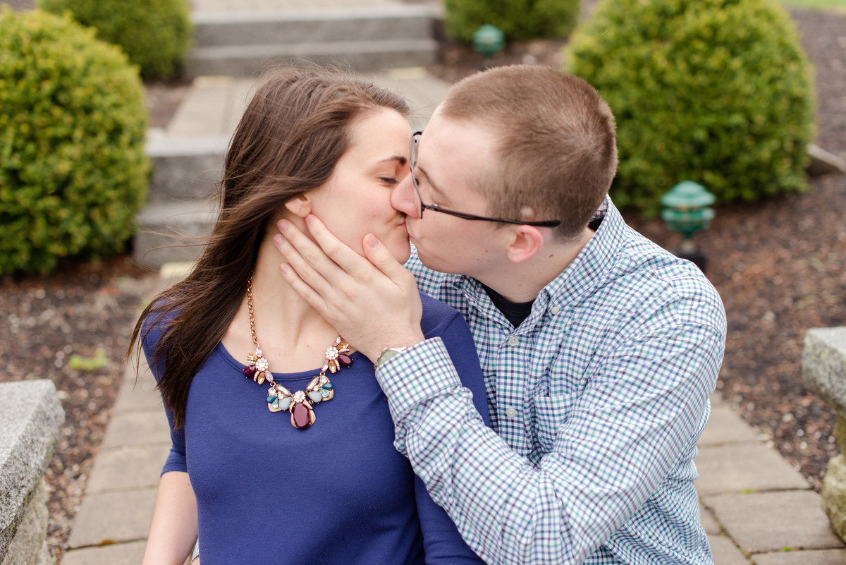 pineland farms engagement photo