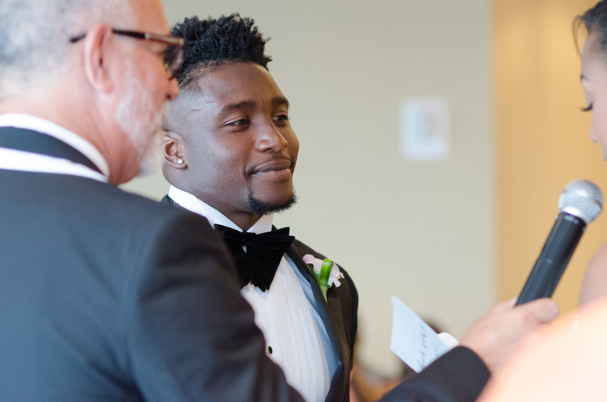 NFL Miami Dolphins Brandon Radcliff ShaKyra Radcliff Briza on the Bay Wedding Andrea Arostegui Photography-136