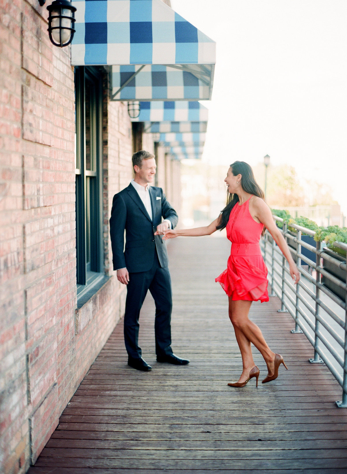 Minneapolis North Loop Engagement Session