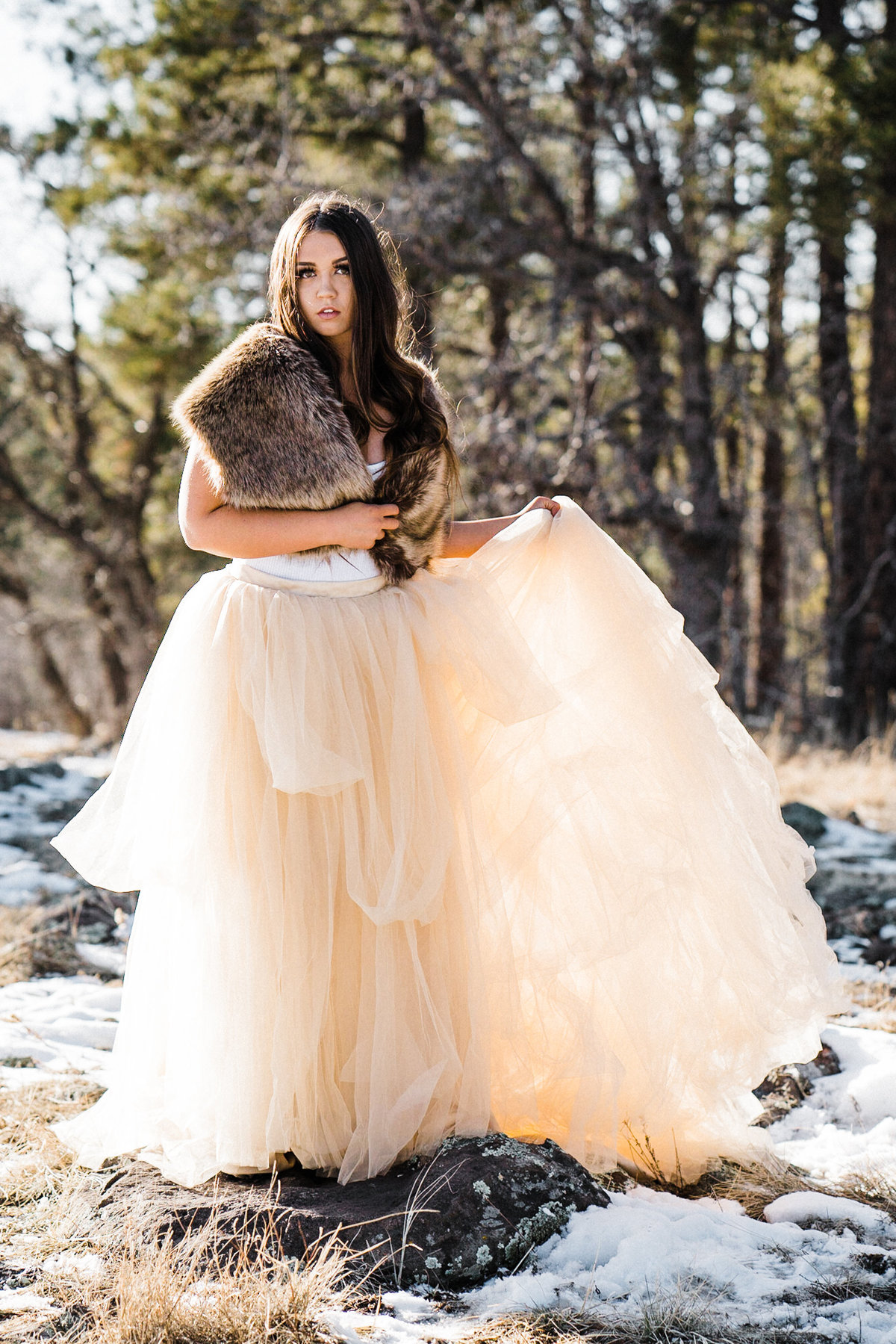 Adventure Winter Glam Bridals Atlas Rose Photography AZ02