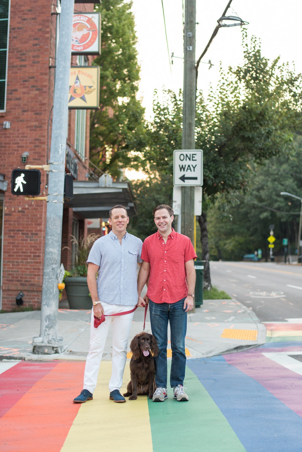 Gay Engagement Session Atlanta Georgia Wedding Photographer
